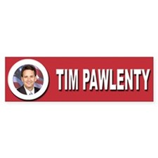 Tim Pawlenty Bumper Sticker