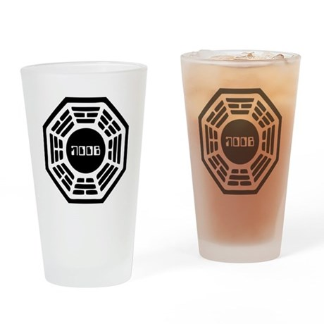 Dharma Noob Pint Glass