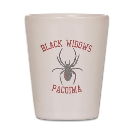 Black Widows Pacoima Shot Glass