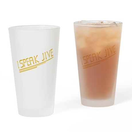 I Speak Jive Pint Glass