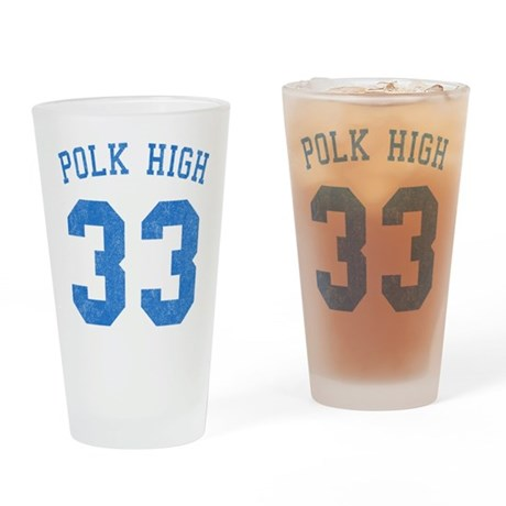 Polk High 33 Pint Glass