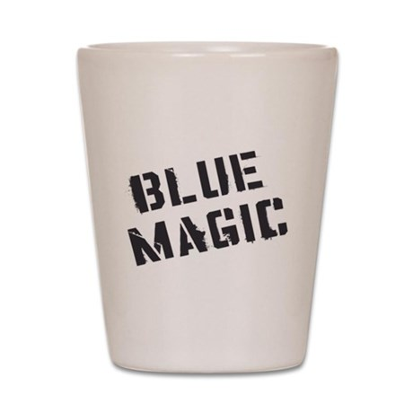 Blue Magic Shot Glass