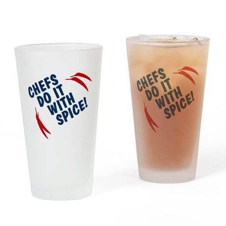 Chefs Do It With Spice Pint Glass