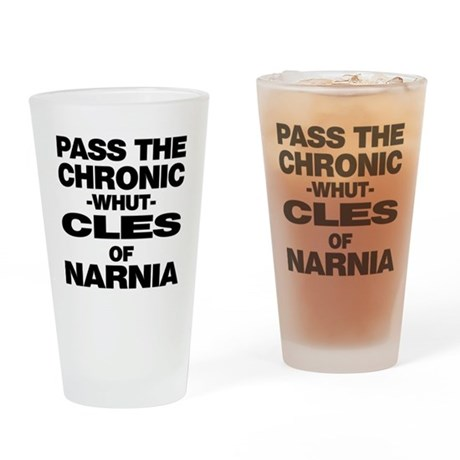 Pass the Chronic-WHUT-cles of Pint Glass
