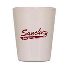 Sanchez Cake Builders Shot Glass