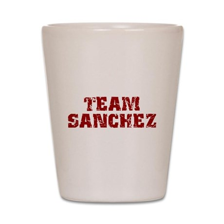 Team Sanchez Shot Glass