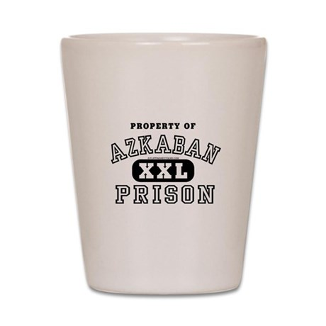 Property of Azkaban Prison Shot Glass