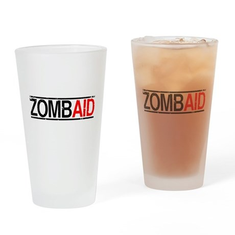 ZombAid Pint Glass