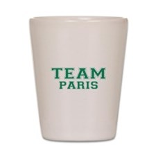 Team Paris Shot Glass