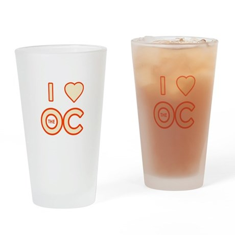I Love the OC Pint Glass
