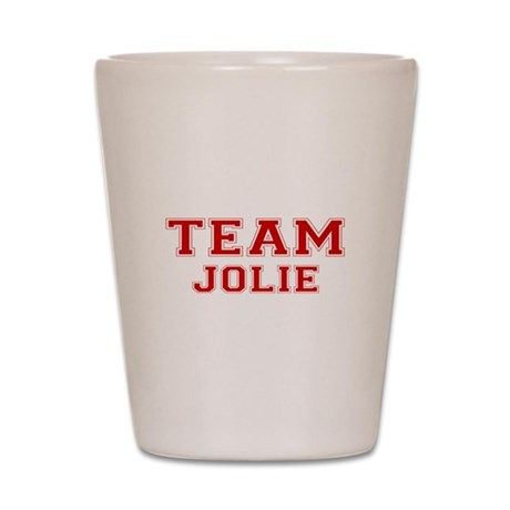 Team Jolie Shot Glass