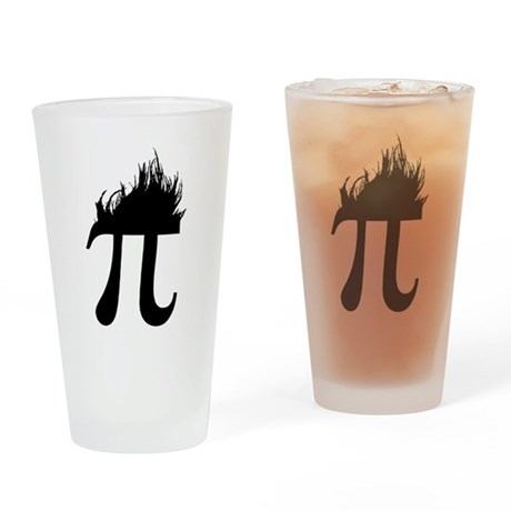 Hair Pi Pint Glass