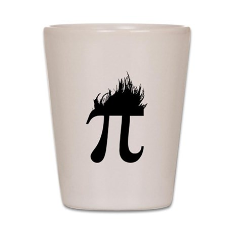 Hair Pi Shot Glass