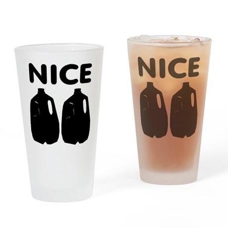 Nice Jugs Pint Glass