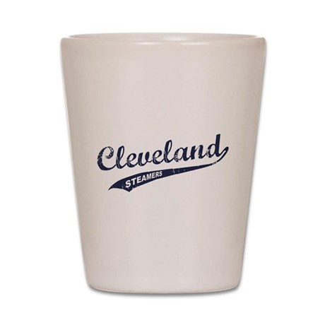 Cleveland Steamers Shot Glass