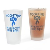 Help Fight Blue Balls Pint Glass