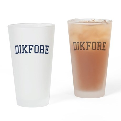 Dikfore Pint Glass