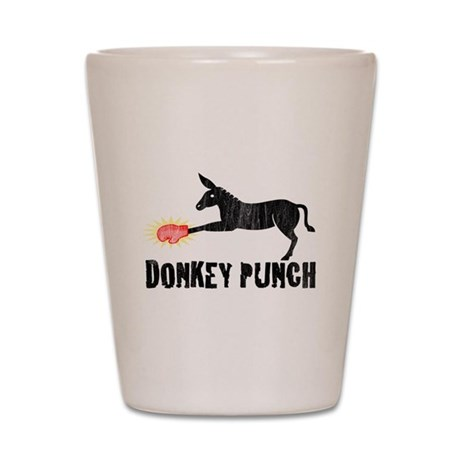 Donkey Punch Shot Glass
