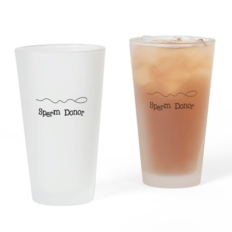 Sperm Donor Pint Glass
