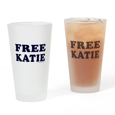 FREE KATIE Pint Glass