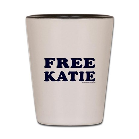FREE KATIE Shot Glass