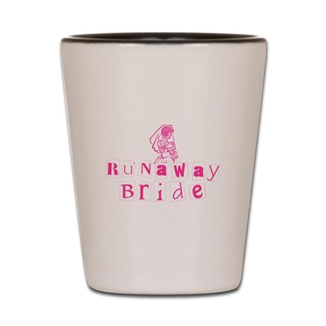 Runaway Bride Shot Glass