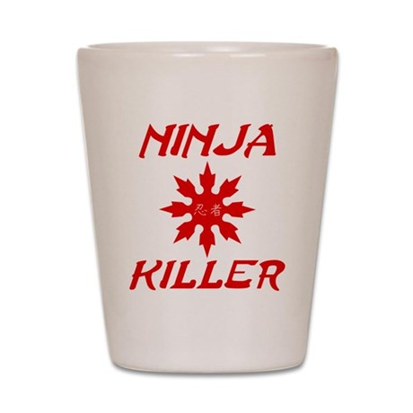 Ninja Killer Shot Glass