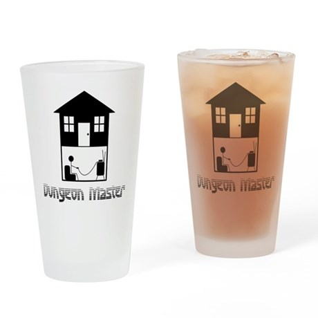 Dungeon Master Pint Glass