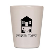 Dungeon Master Shot Glass