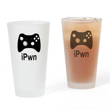 iPwn Pint Glass