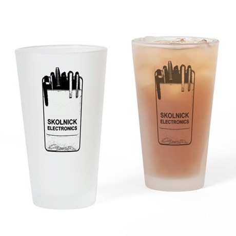 Skolnick Electronics Pocket P Pint Glass