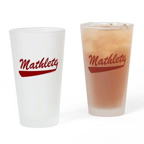 Mathlete Pint Glass