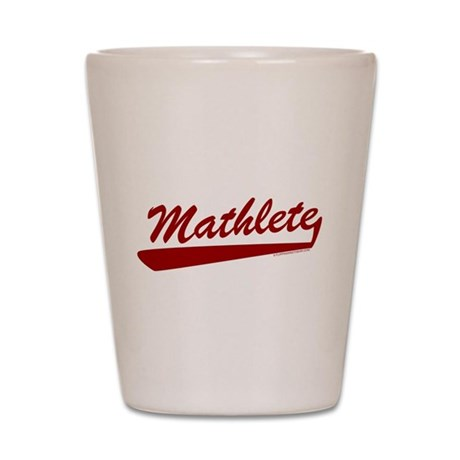 Mathlete Shot Glass