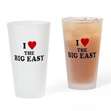 I Love [Heart] the Big Easy Pint Glass