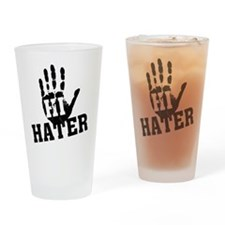 Hi Hater Pint Glass