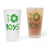 I Recycle Boys Pint Glass