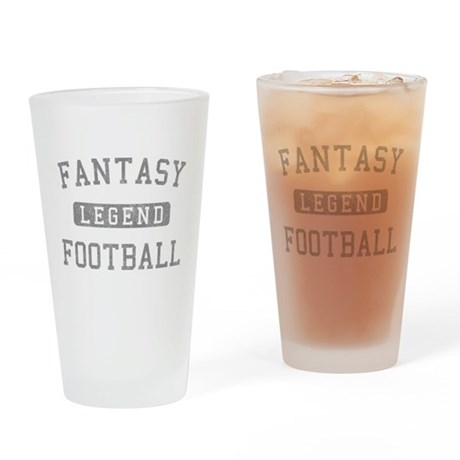 Fantasy Football Legend Pint Glass