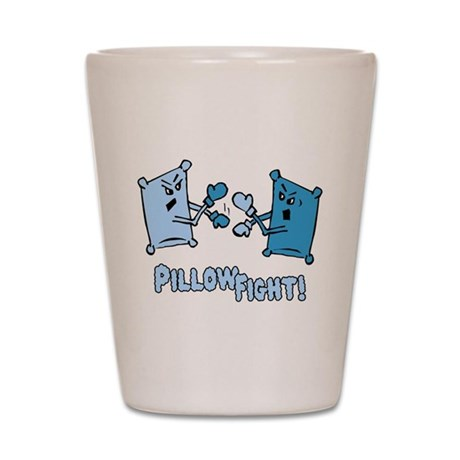 Pillow Fight Shot Glass