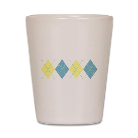 Argyle Business Casual Shot Glass