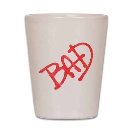 Bad (vintage) Shot Glass