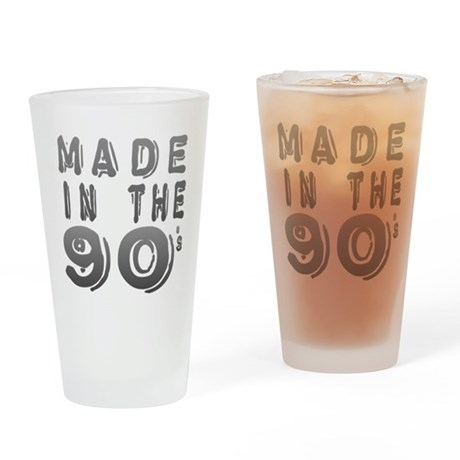 Made in the 90's Pint Glass