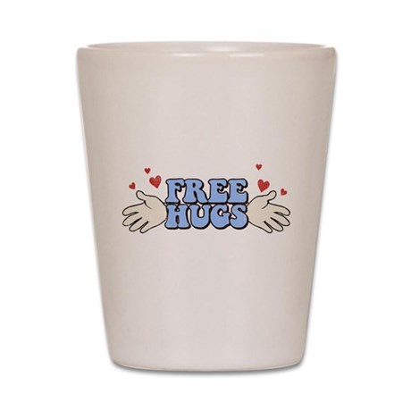 Free Hugs Shot Glass