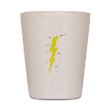 Lightning Bolt (Vintage) Shot Glass