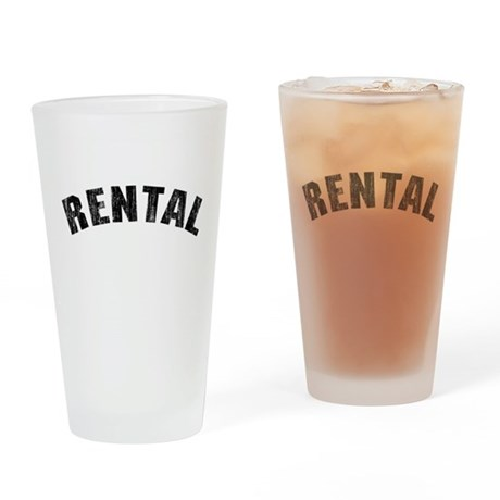 Rental (Vintage 1968) Pint Glass