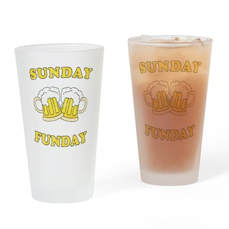 Sunday Funday Pint Glass
