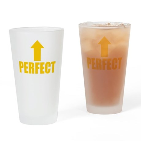 I'm Perfect Pint Glass