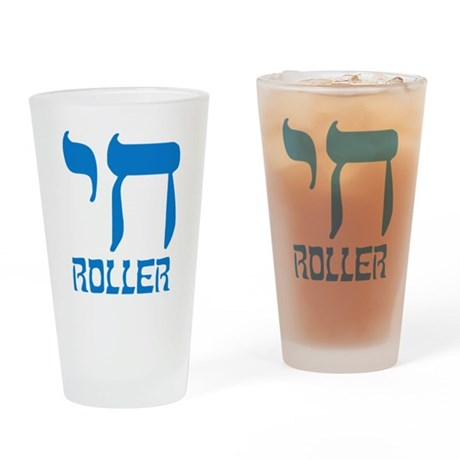 Chai Roller Pint Glass