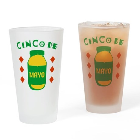 Cinco De Mayo Pint Glass