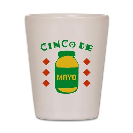 Cinco De Mayo Shot Glass