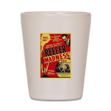 Vintage Reefer Madness Shot Glass
